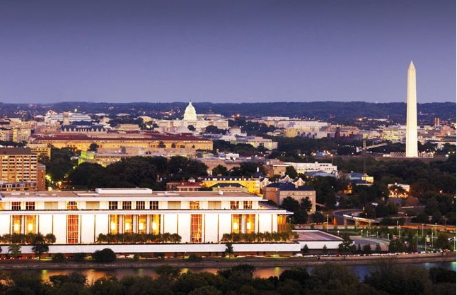 Sweeping Views of DC Landmarks are Enjoyed from the Roof Deck at The Waterview