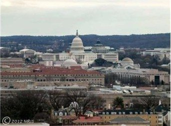 View Of The Capitol