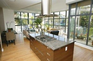 Lavish kitchens & finishes